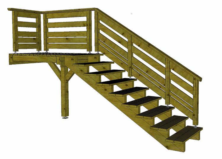 fabricant alsacien de terrasse bois au sol et sur poteaux. Black Bedroom Furniture Sets. Home Design Ideas